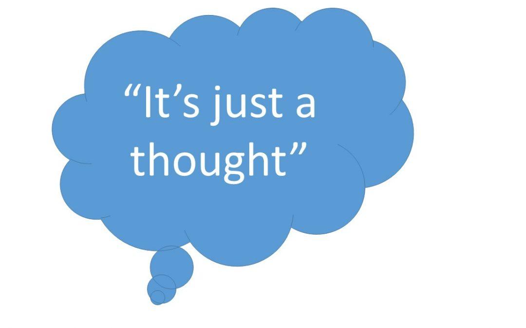 La defusión del pensamiento. No te creas todo lo que piensas.